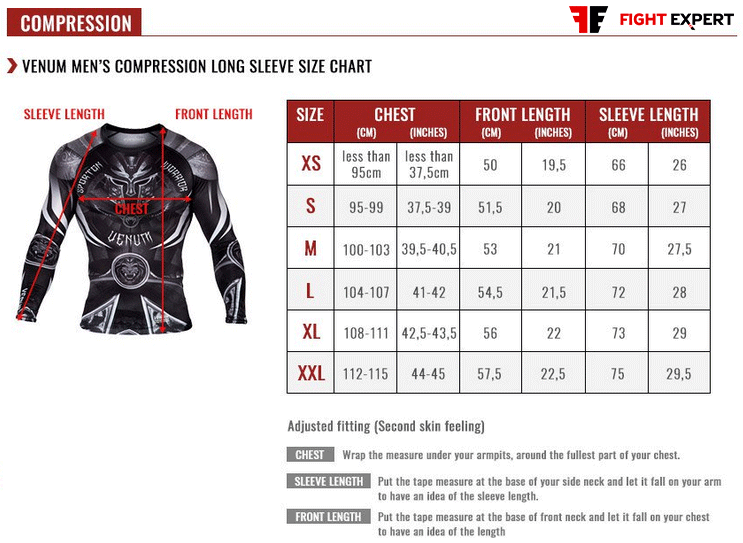 size_table_venum_mens_rashguards