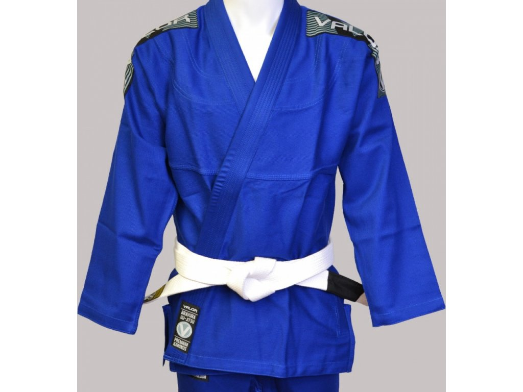 BJJ gi kimono Valor Bravura BLUE + white belt