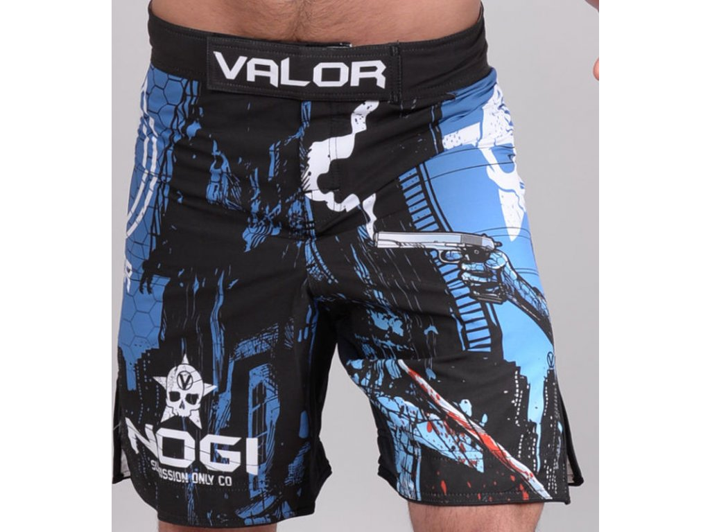 MMA Shorts Valor Assassin Artwork no-gi