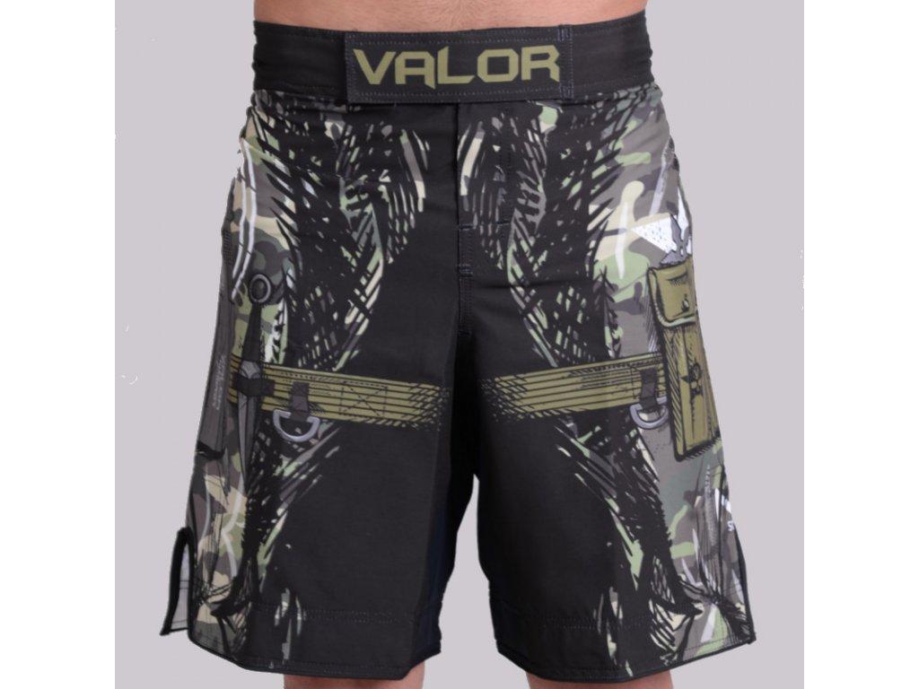 MMA Shorts Valor Assassin CAMO no-gi