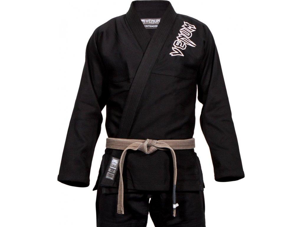 BJJ kimono Venum Contender 2.0 gi - BLACK