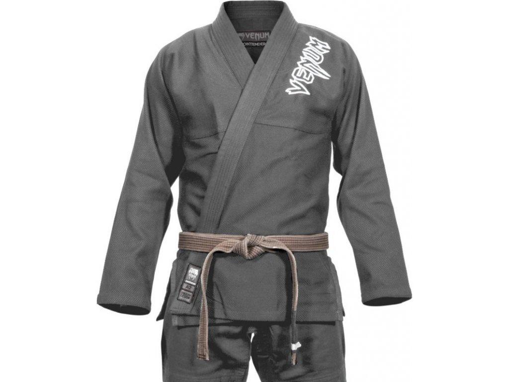 BJJ kimono Venum Contender 2.0 gi - GREY
