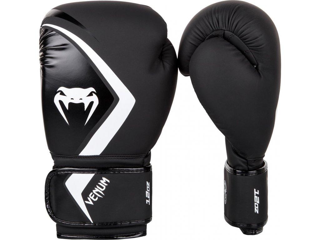 Boxing Gloves Venum Contender 2.0 Black/Grey/White