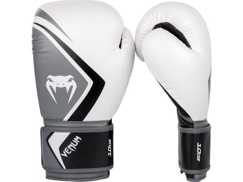 Boxing Gloves Venum Contender 2.0 White/Grey/Black