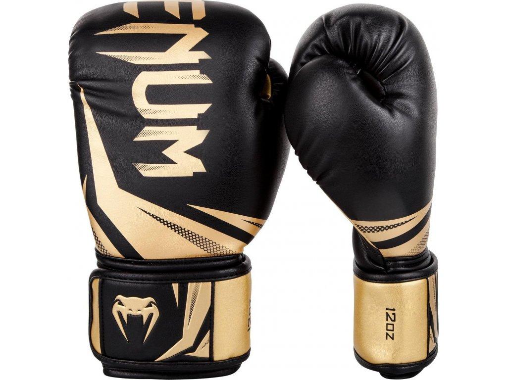 Boxing Gloves Venum Challenger 3.0 - Black/Gold