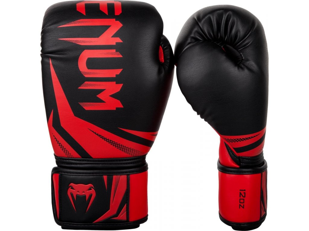 Boxing Gloves Venum Challenger 3.0 - Black/Red