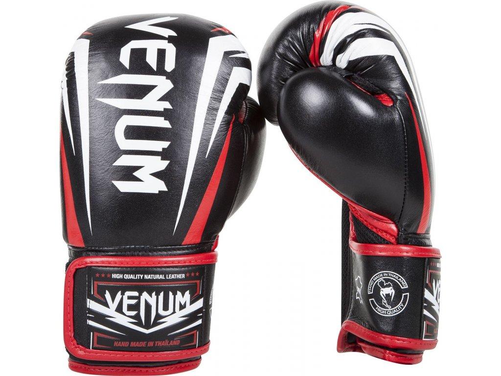 Boxing Gloves Venum Sharp - Black/Ice/Red