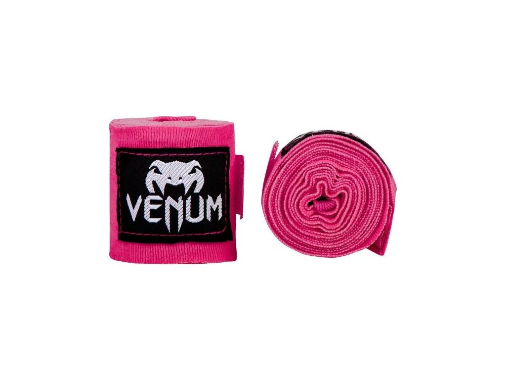 Boxing Handwraps Venum Kontact 2,5m - Neo Pink