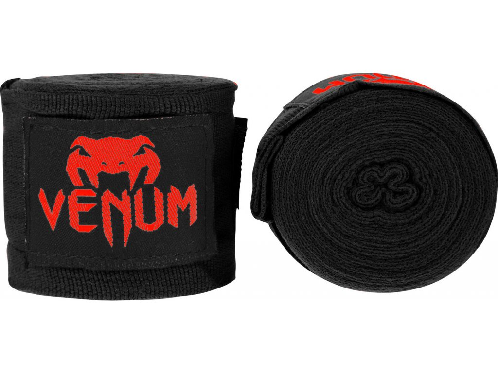 Boxing Handwraps Venum Kontact 2,5m BLACK/Red