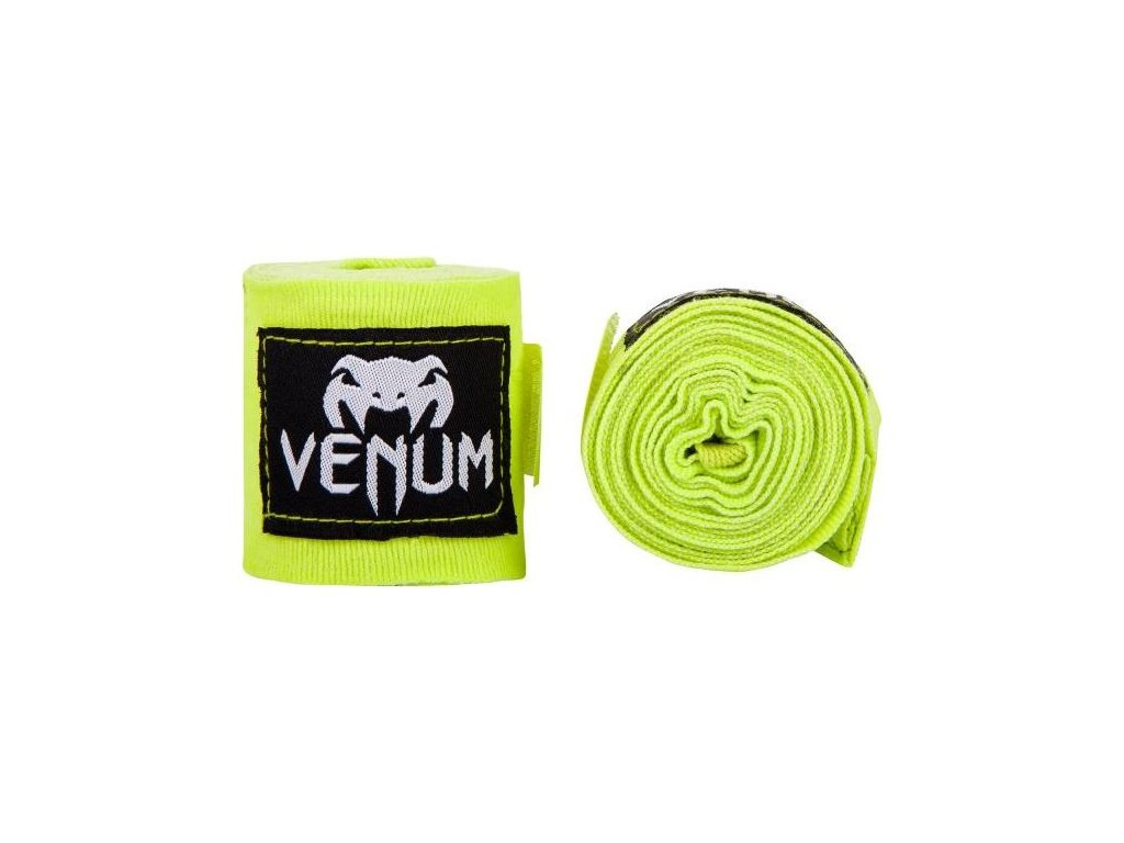 Boxing Handwraps Venum Kontact 4m - Neon Yellow