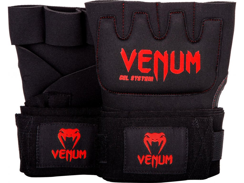 Gel Glove Wraps Venum Kontact BLACK/RED