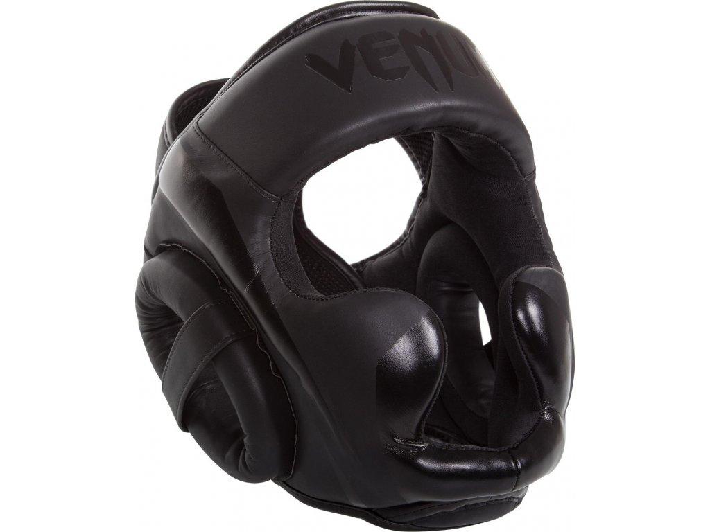 Headgear for box/MMA Venum Elite - BLACK