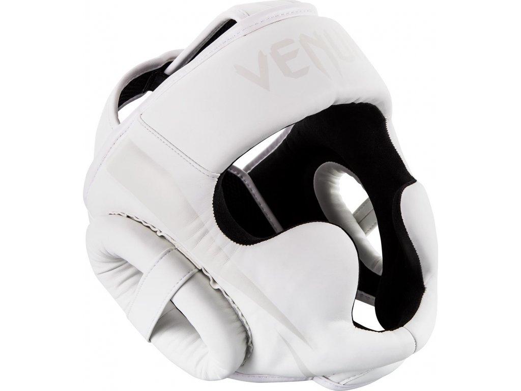 Headgear for box/MMA Venum Elite - WHITE/WHITE