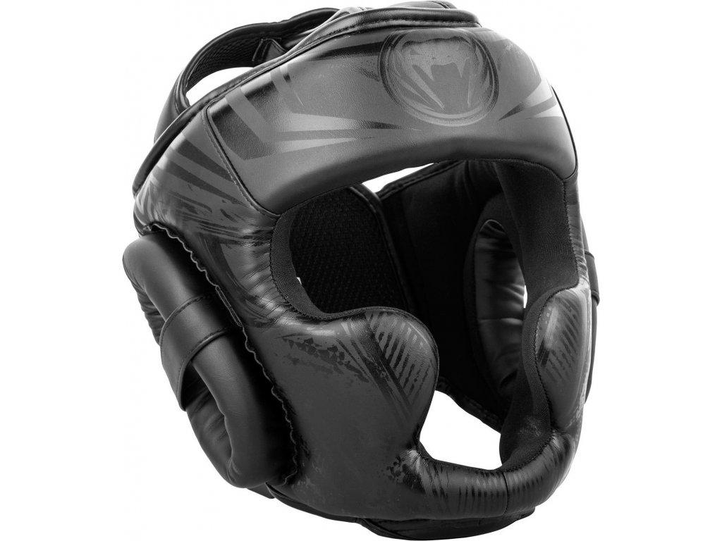 Headgear Venum Gladiator 3.0 - MATTE BLACK