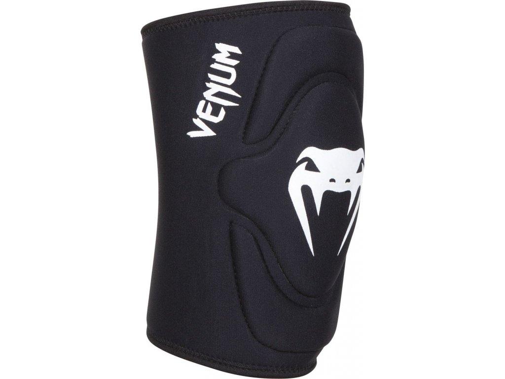 Knee Pads Venum Kontact lycra/gel BLACK/WHITE