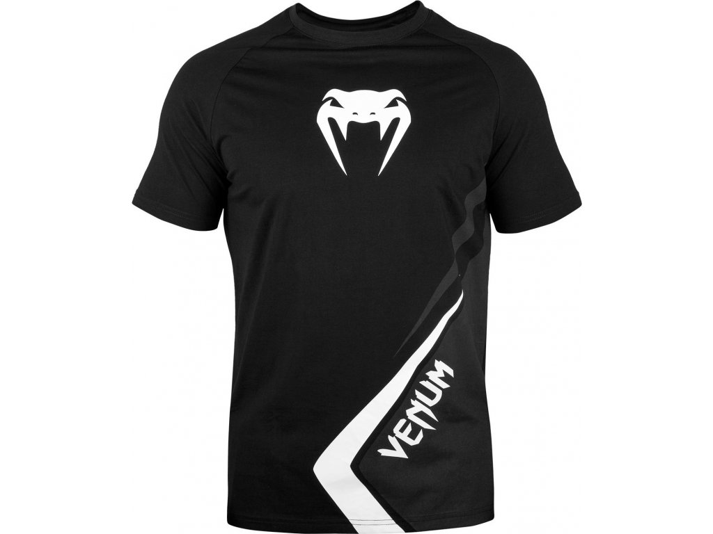 Men's T-shirt Venum Contender 4.0 - BLACK/GREY-WHITE