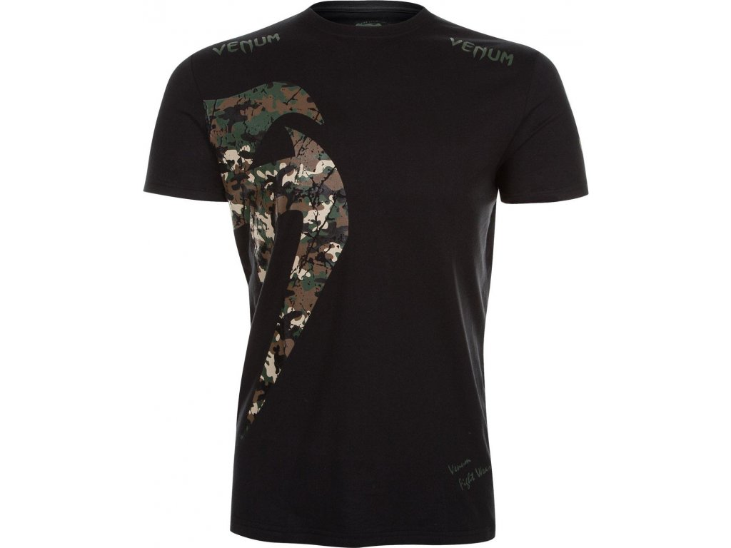 Men's T-shirt Venum Giant - JUNGLE CAMO