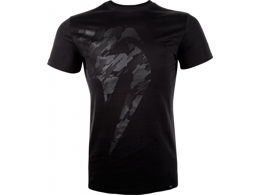 Men's T-shirt Venum TECMO Giant - BLACK/BLACK