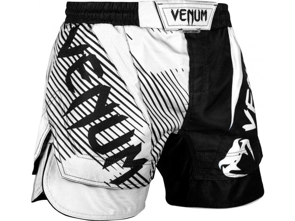 MMA shorts Venum NoGi 2.0 - BLACK/WHITE