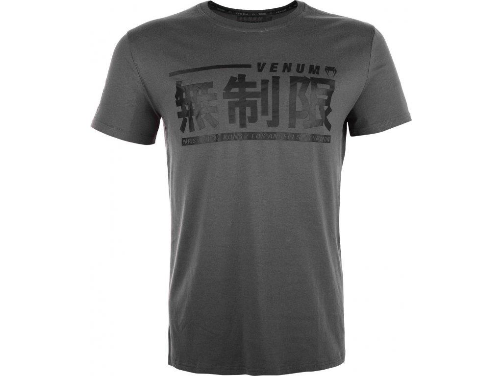 Men's shirt Venum Limitless - GREY
