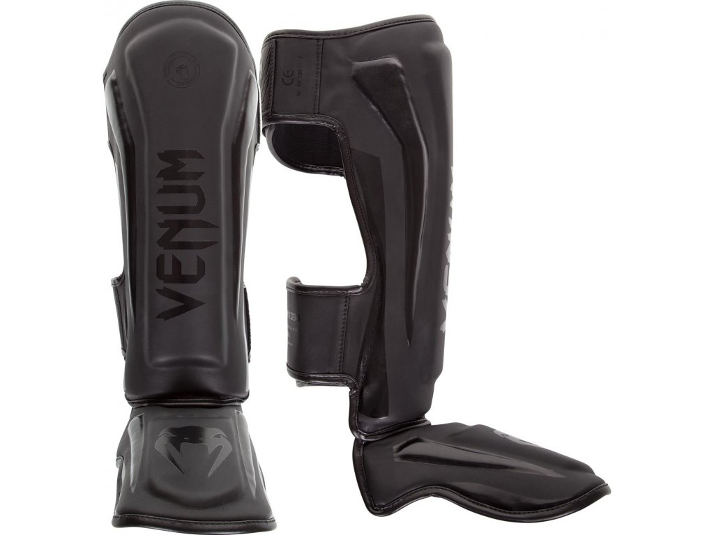 Shin Guards Venum Elite - BLACK