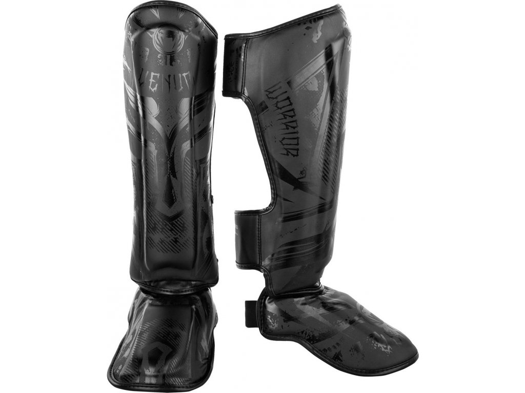 Shin Guards Venum Gladiator 3.0 - BLACK/BLACK