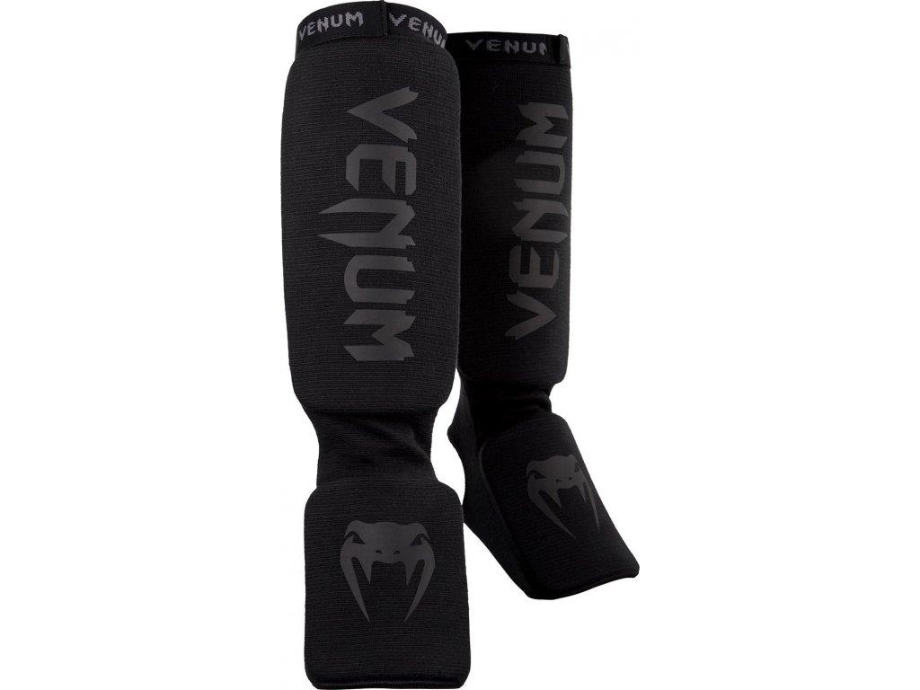 Shin Guards Venum Kontact - BLACK/BLACK