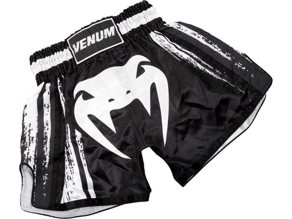 Shorts Venum Bangkok Spirit Muay Thai Shorts - BLACK