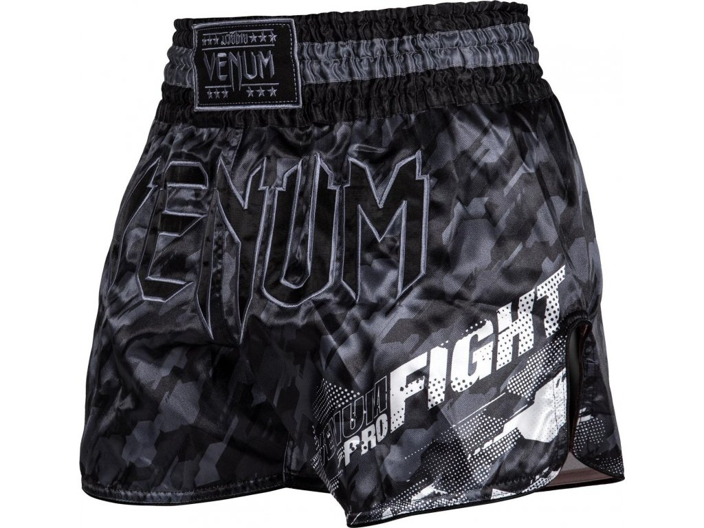 Shorts Venum TECMO Muay Thai - DARK GREY