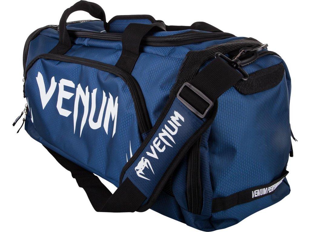 Sports Bag Venum Trainer Lite - NAVY BLUE/WHITE