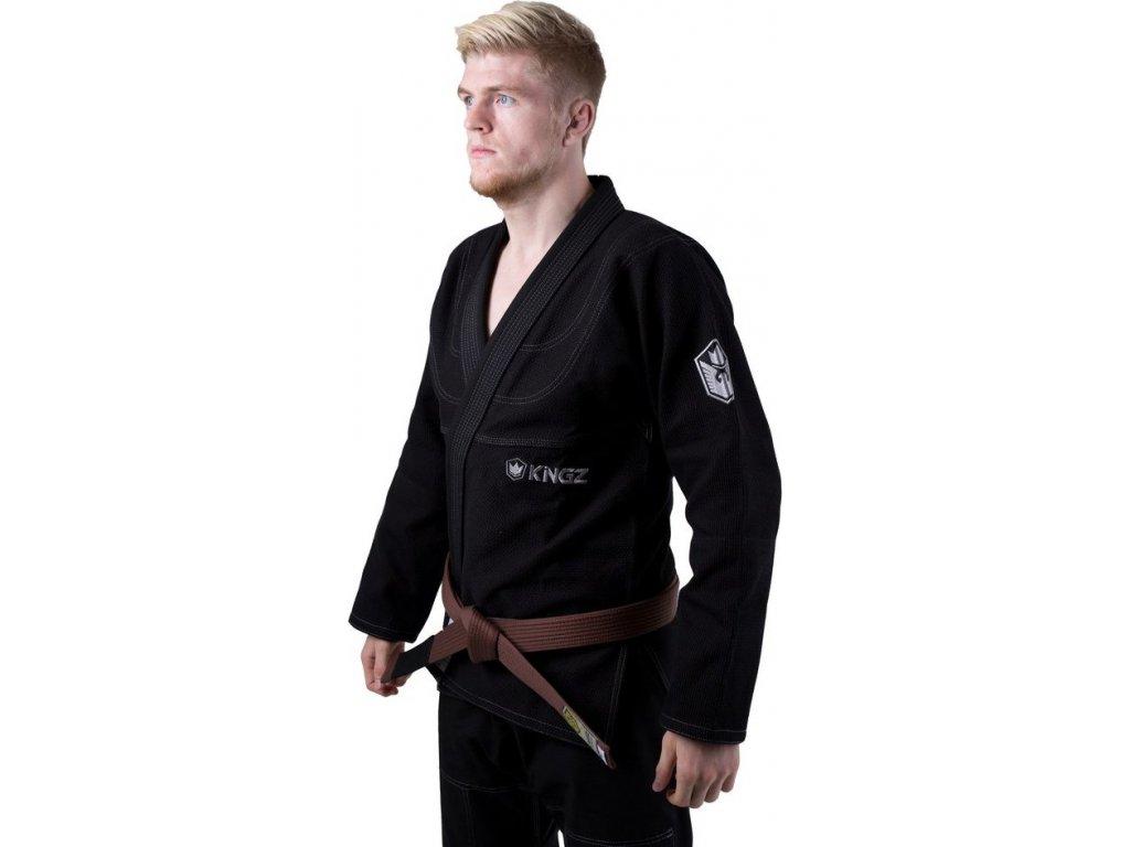 BJJ gi kimono Gi Kingz Balistico 2.0 - BLACK + gi bag