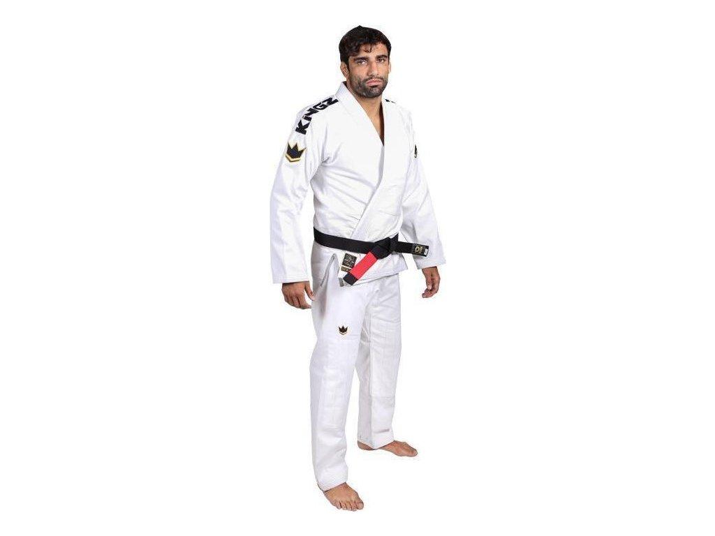 BJJ gi kimono Gi Kingz Comp 450 V5 - WHITE