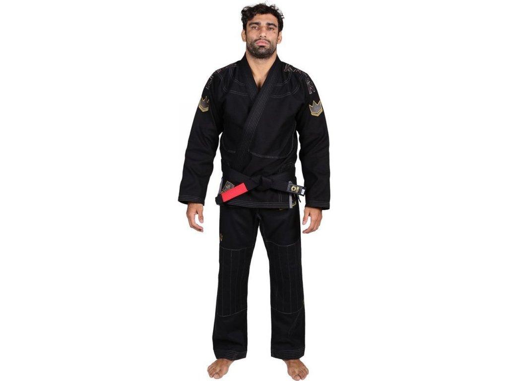 BJJ gi kimono Gi Kingz Comp 450 V5 - BLACK