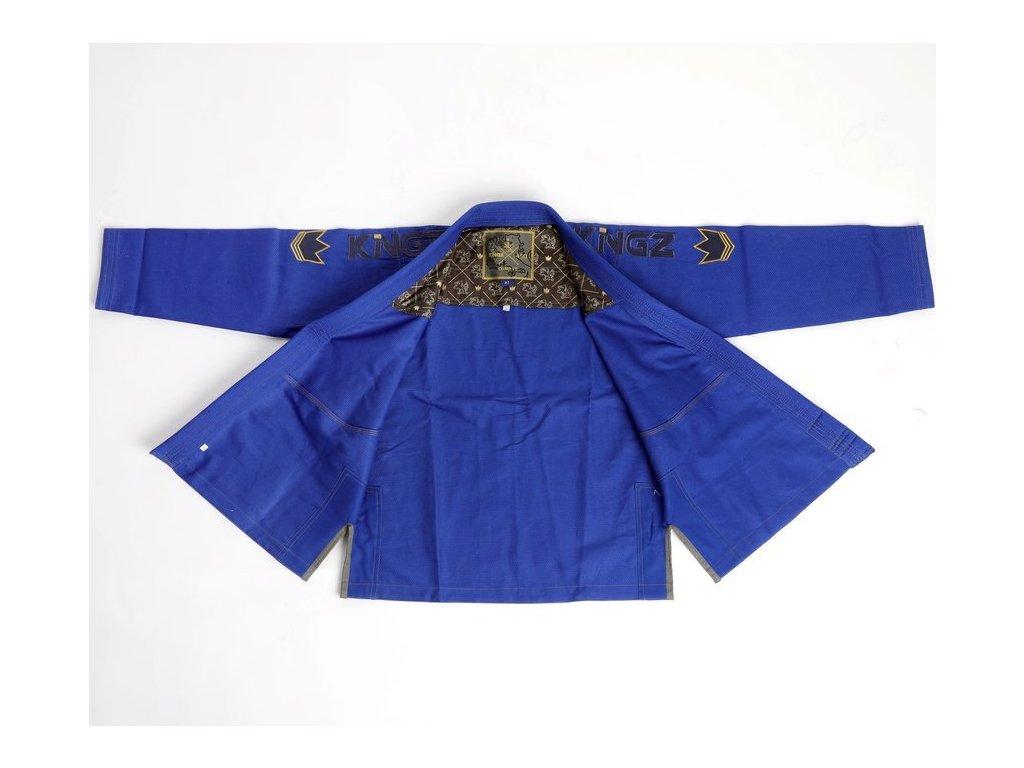Womens BJJ gi kimono Gi Kingz Comp 450 V5 - BLUE