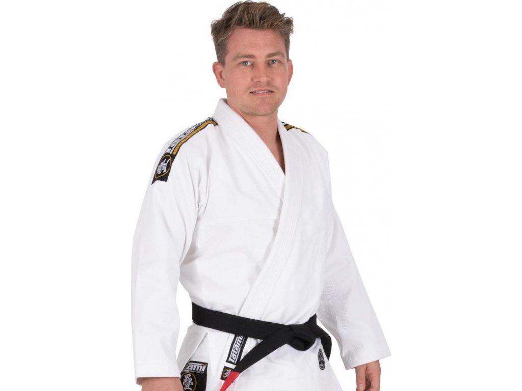 BJJ gi kimono Tatami Nova Absolute WHITE + FREE WHITE BELT
