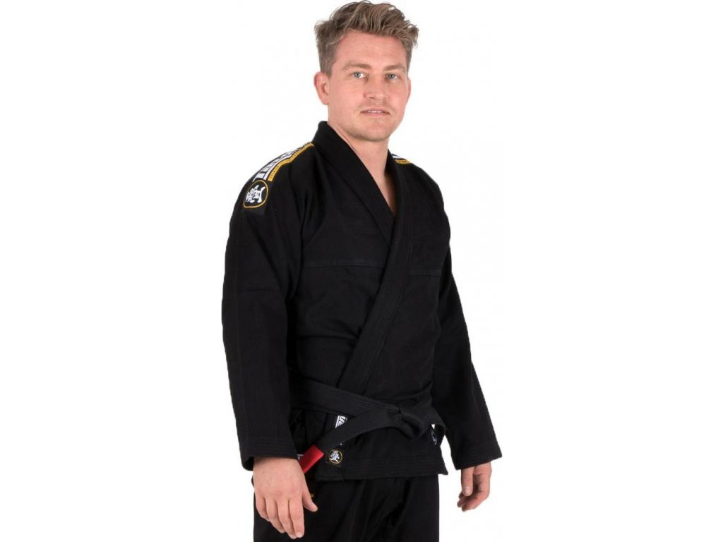 BJJ gi kimono Tatami Nova Absolute BLACK + FREE WHITE BELT