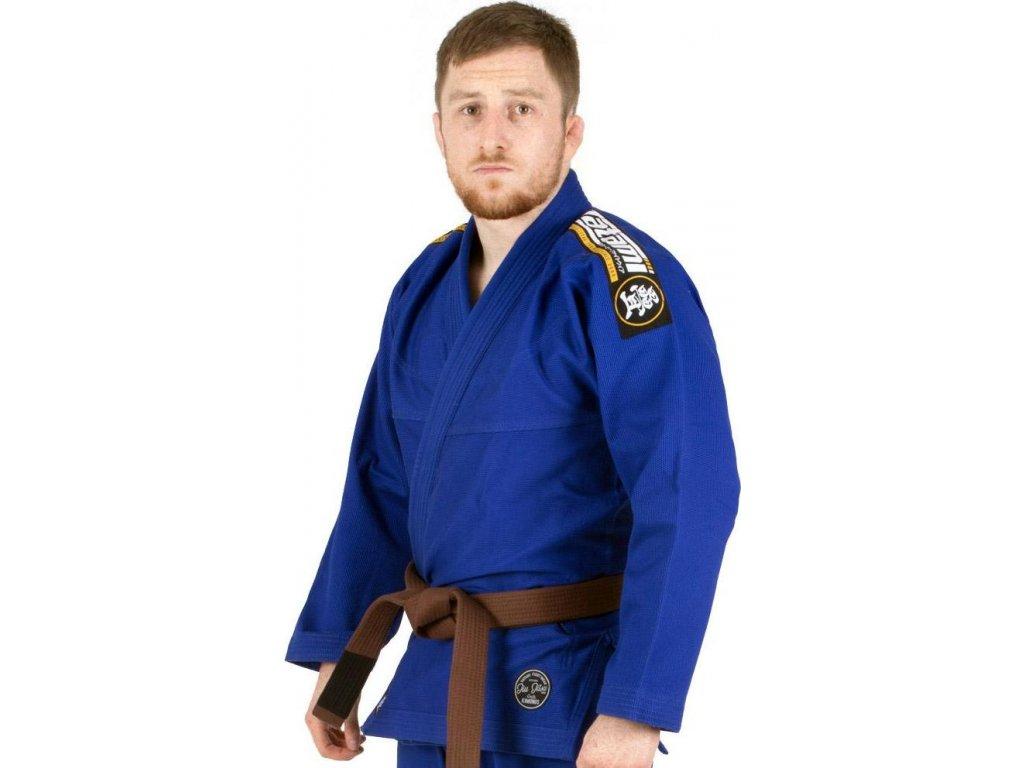 BJJ gi kimono Tatami Nova Absolute BLUE + FREE WHITE BELT