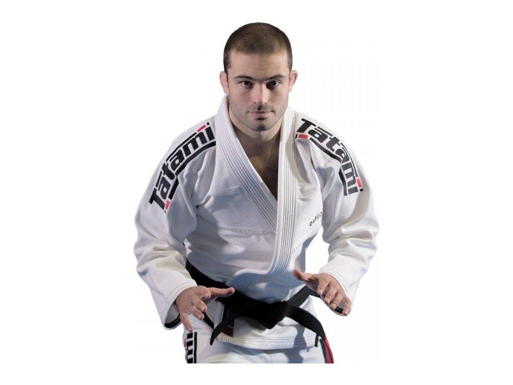 BJJ gi kimono Tatami Estilo 6.0 WHITE & BLACK