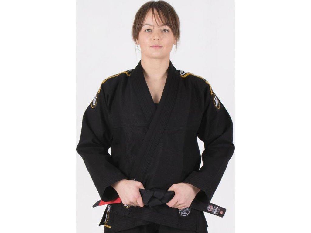 Ladies BJJ gi kimono Tatami Nova Absolute gi BLACK + WHITE belt FREE