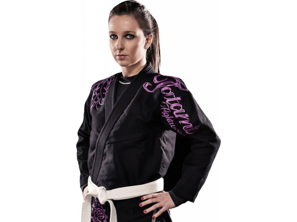 Ladies Phoenix BLACK Tatami fightwear Ladies BJJ gi kimono
