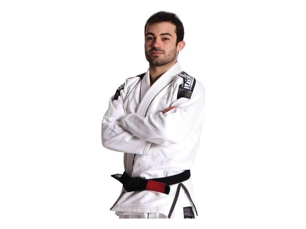 Nova Plus WHITE Tatami fightwear BJJ gi kimono + FREE WHITE BELT