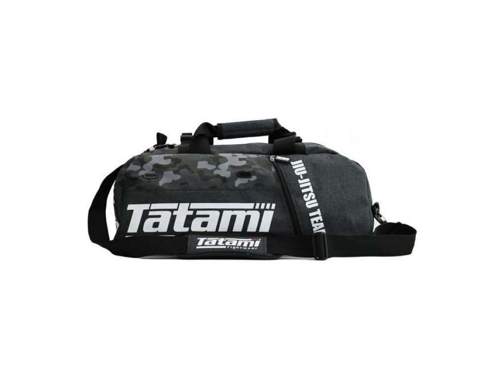 Sports Bag Tatami JIU-JITSU GREY CAMO