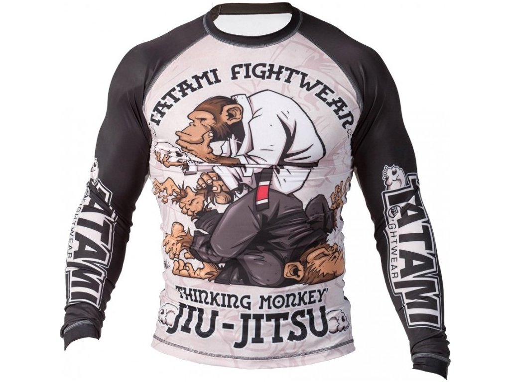 Thinker Monkey Rash Guard - Tatami fightwear