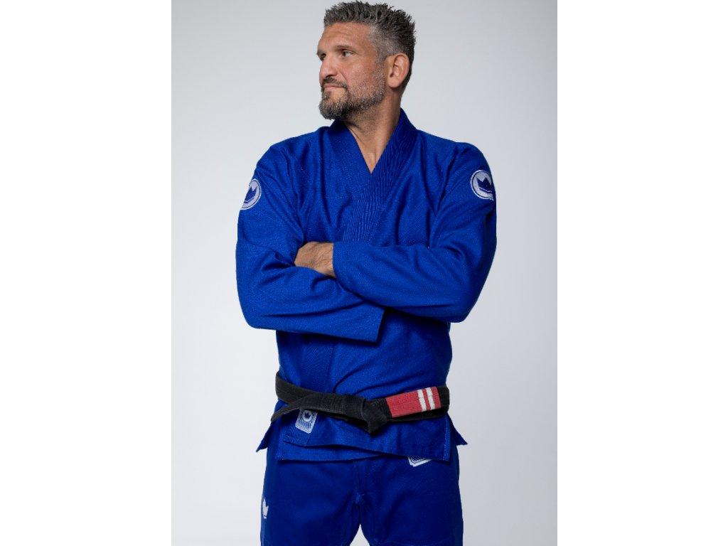 BJJ gi kimono Kingz Classic Jiu Jitsu 3.0 Blue + WHITE BELT