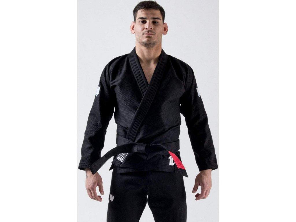 BJJ gi kimono Kingz The One - Black + white belt