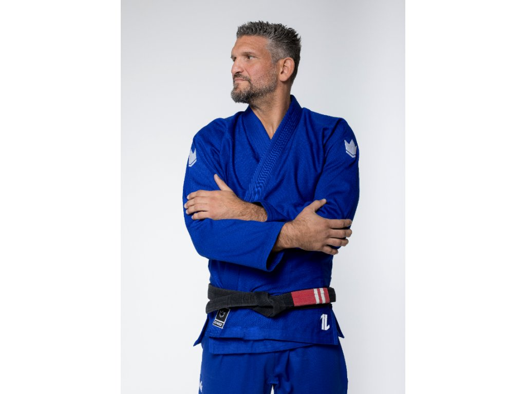BJJ gi kimono Kingz The One - Blue + white belt