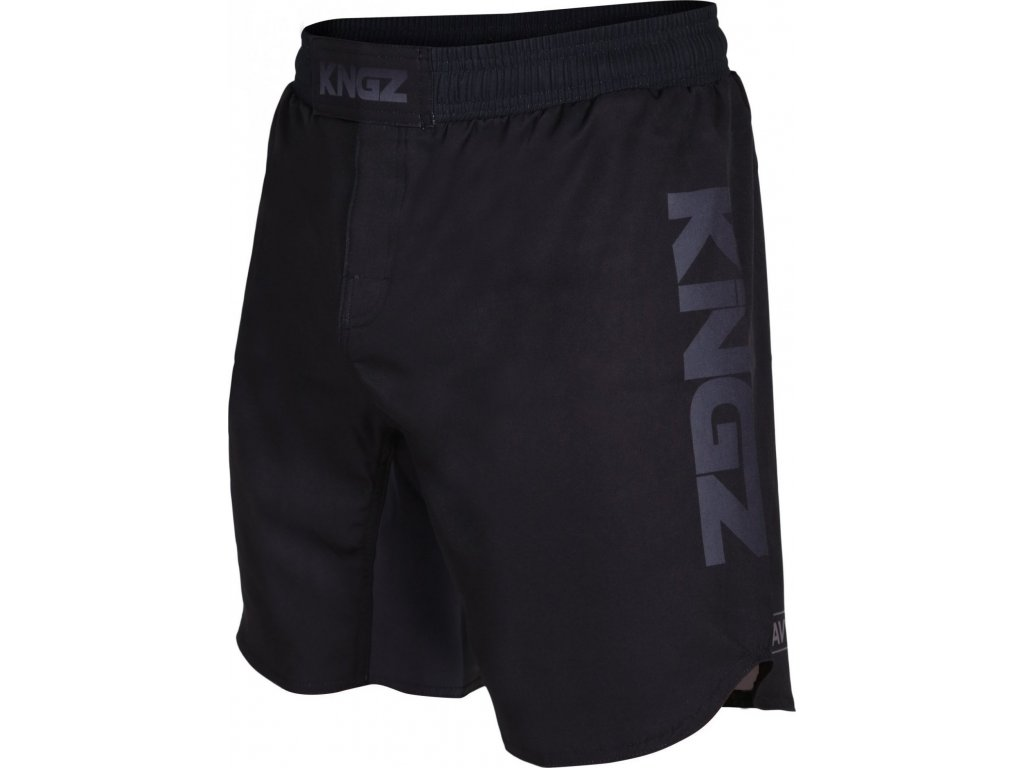 Shorts no-gi Kingz Crown Competition - Black/Grey
