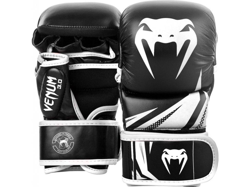 MMA Sparring Gloves Venum Challenger 3.0 - Black/White