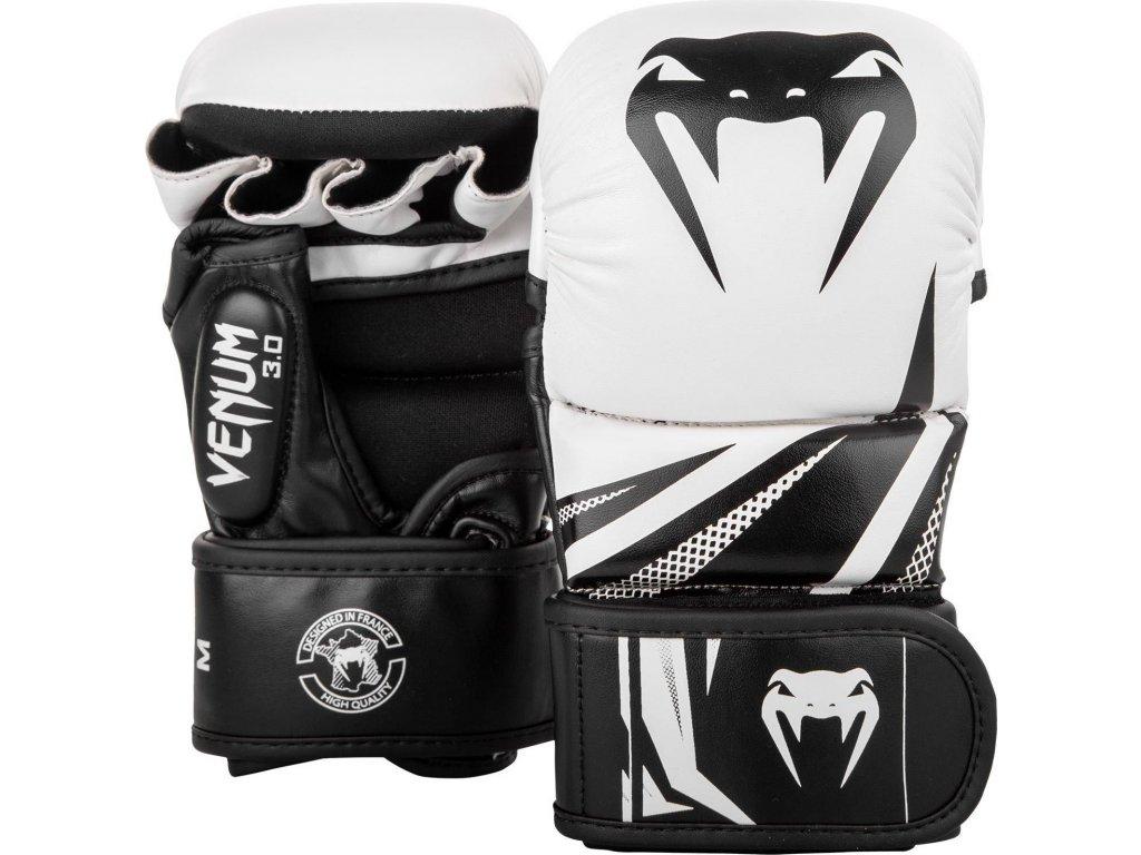 MMA Sparring Gloves Venum Challenger 3.0 - White/Black