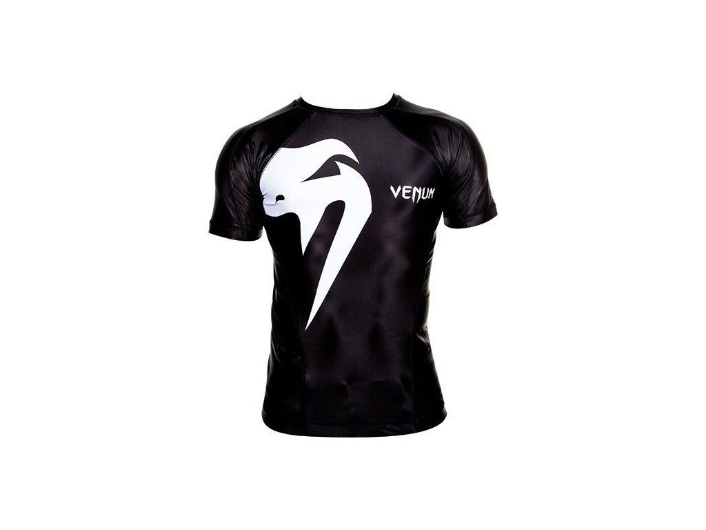 Rashguard Venum Giant - Short Sleeves - Black/White